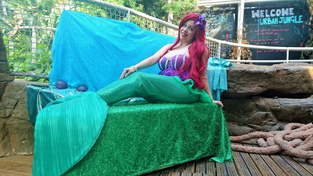 Tamara the Mermaid at Bristol Aquarium